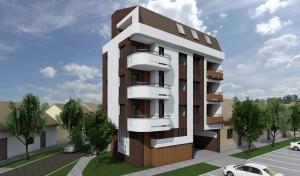 Lava Tolstoja 23 Render zgrade