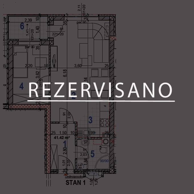 Stan-1-REZERVISANO