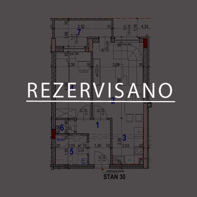 Stan-30-REZERVISANO
