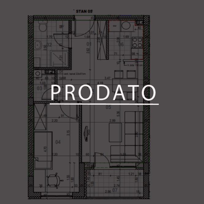 STAN 5-PRODATO